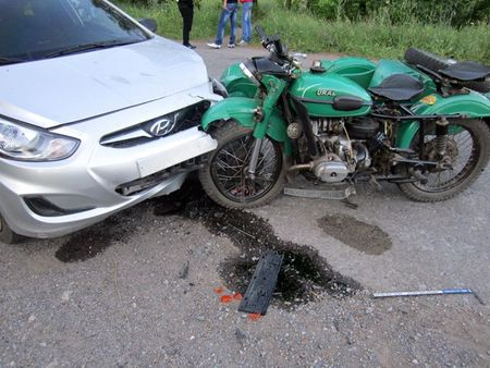 дтп мотоцикл