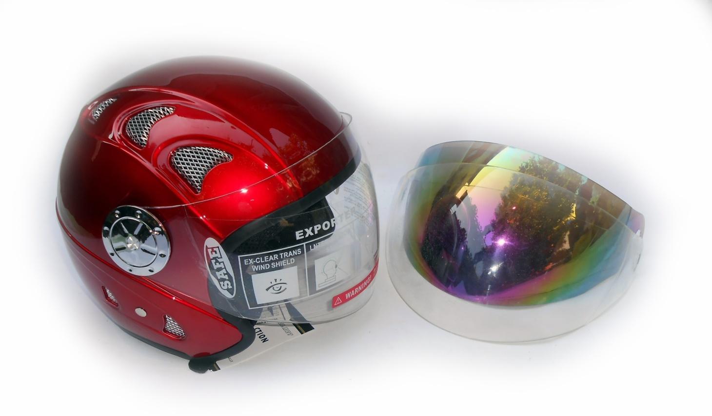 открытый шлем для скутера